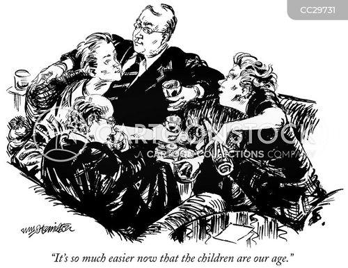 adult kid cartoon