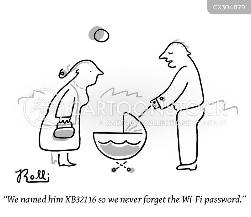wi-fi cartoon