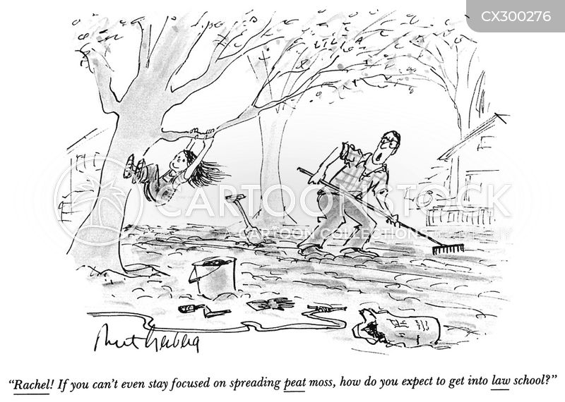 Yard Work cartoon