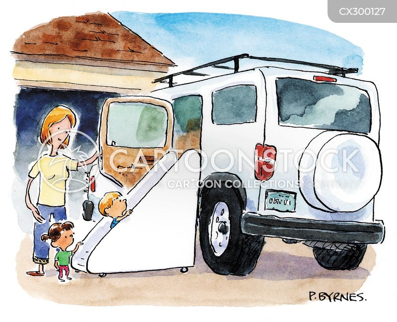 big vehicle cartoon