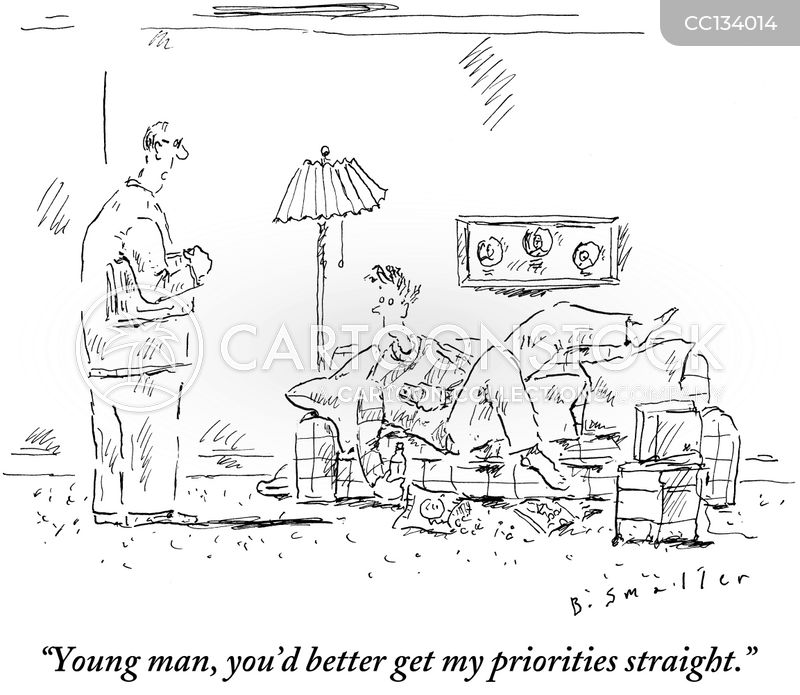 priority cartoon
