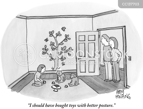 unhealthy cartoon