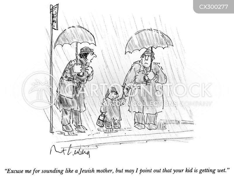jewish mother cartoon