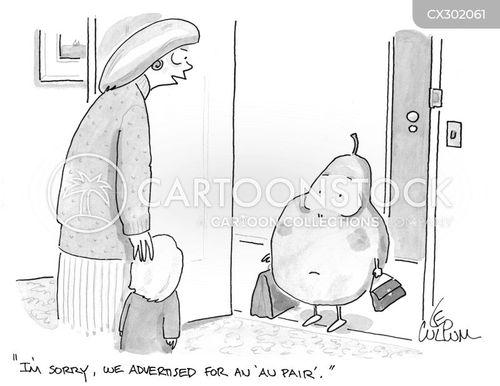 sitter cartoon