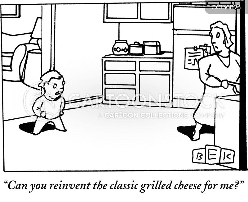 mealtime cartoon