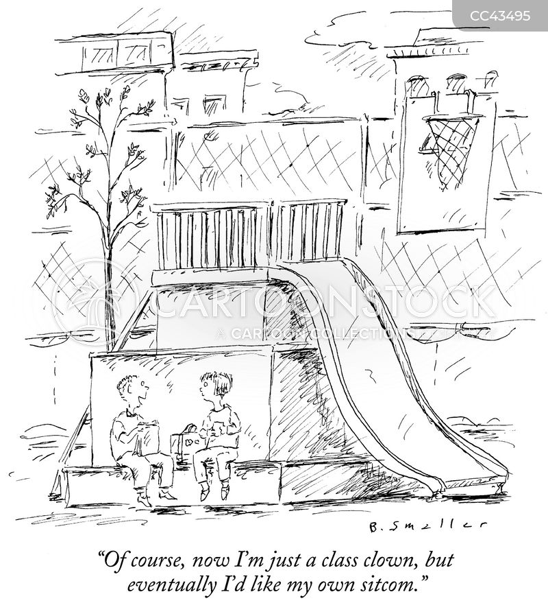 Class Clown cartoon