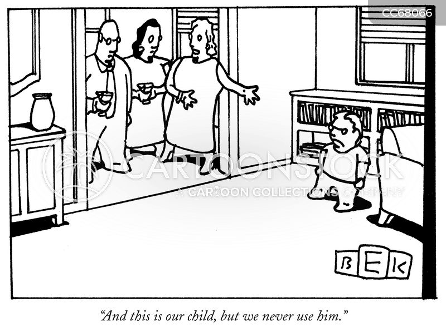 neglect cartoon