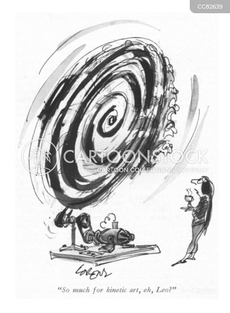Kinetic Art cartoon