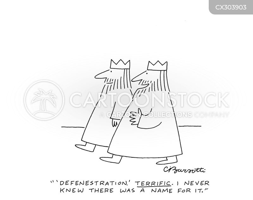overthrowing cartoon