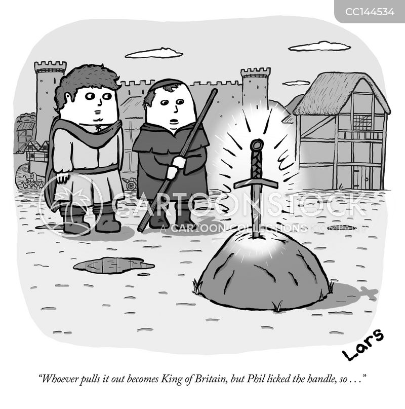 king arthur cartoon