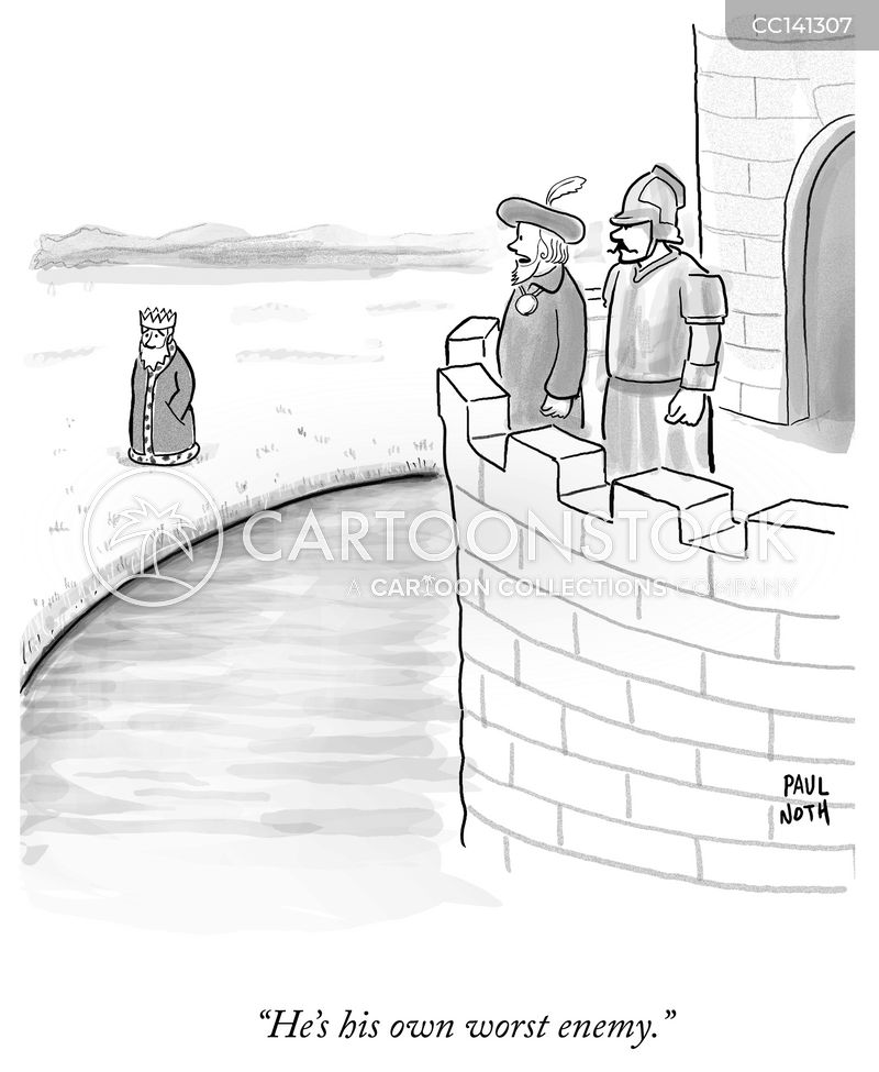 fortress cartoon