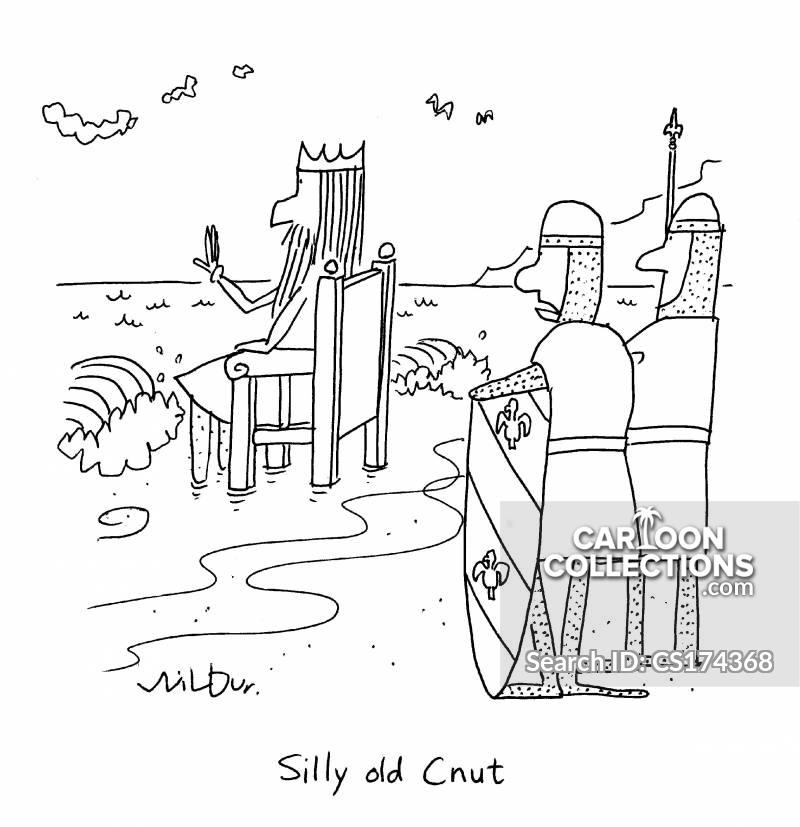 anglo saxons cartoon