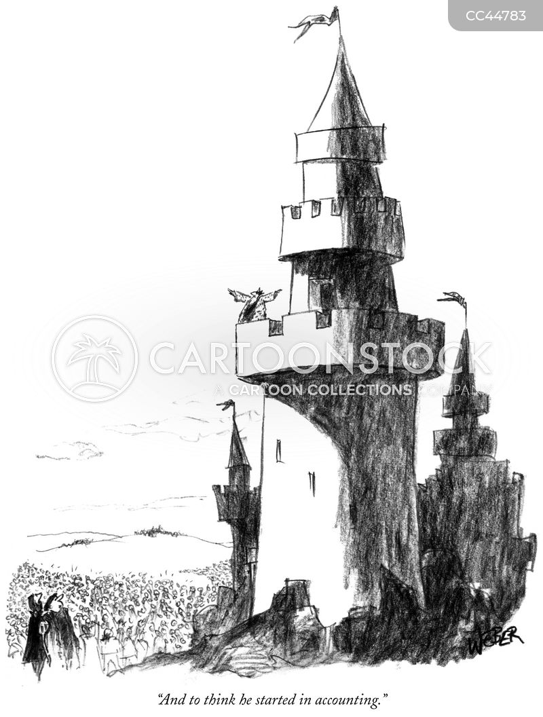 towers cartoon