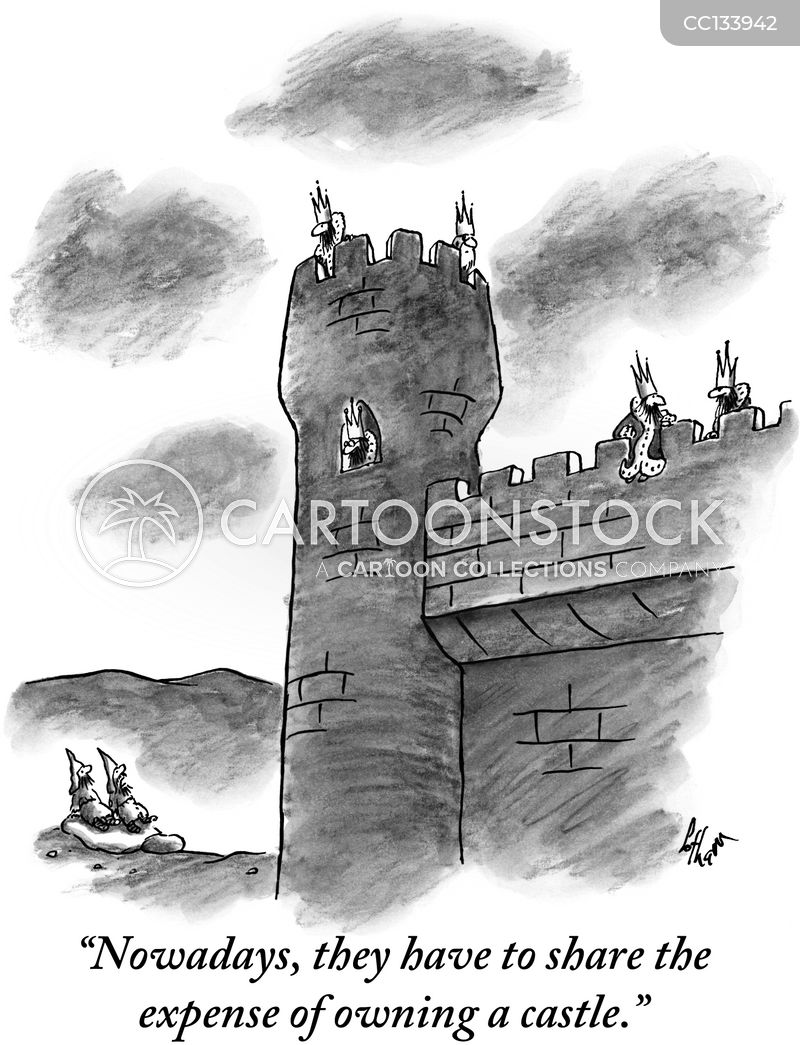 Castles cartoon