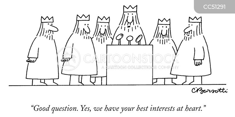 one percenters cartoon