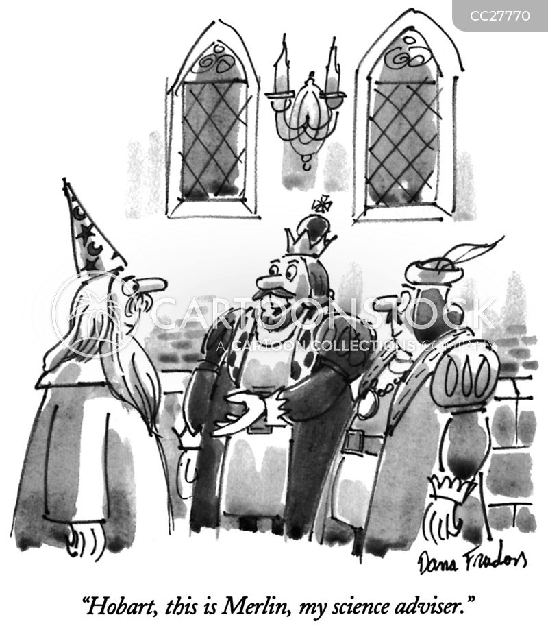 magicians cartoon