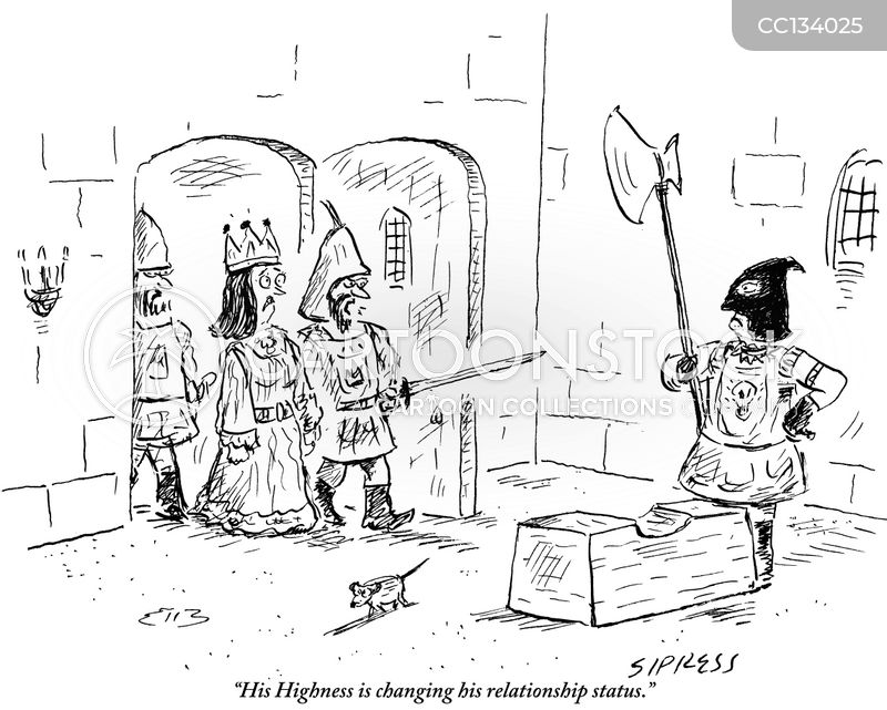 king henry viii cartoon