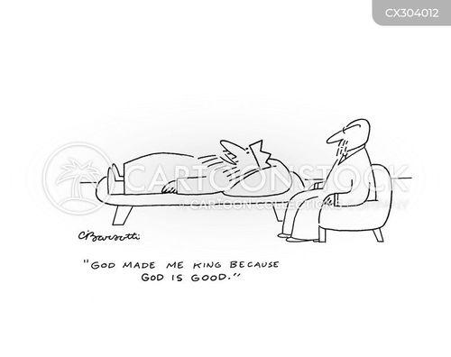 egotistic cartoon