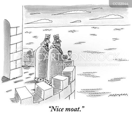 moat cartoon