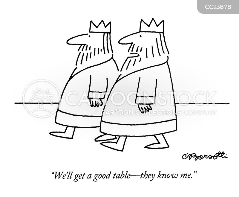 good table cartoon