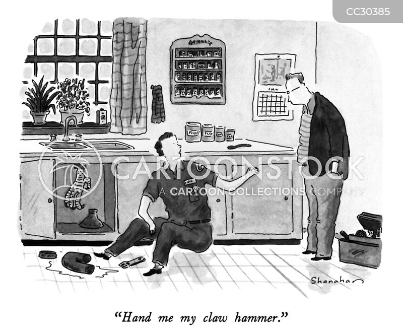 Claw Hammer cartoon