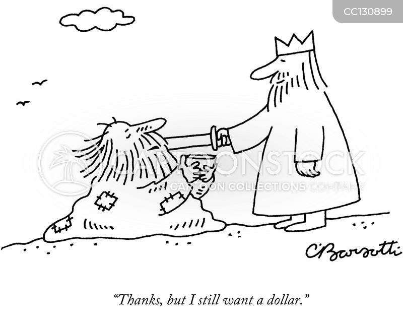 knighted cartoon