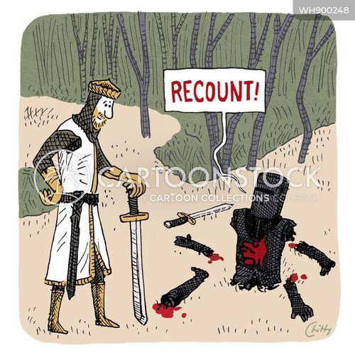 recount cartoon