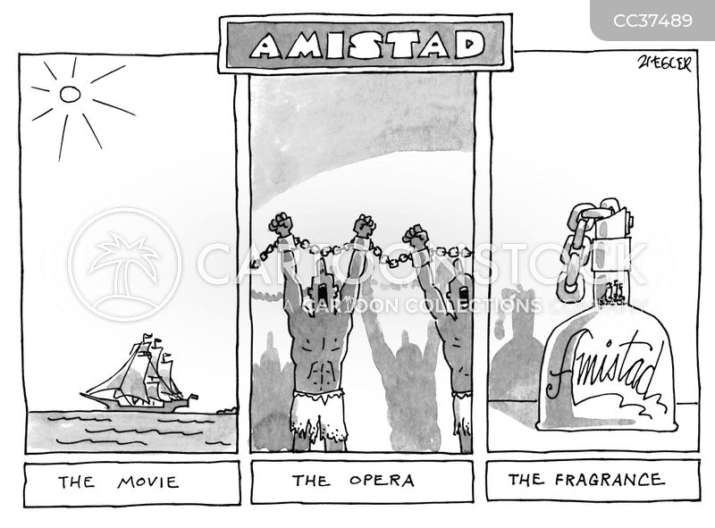 Amistad cartoon