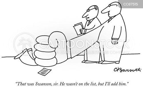management style cartoon