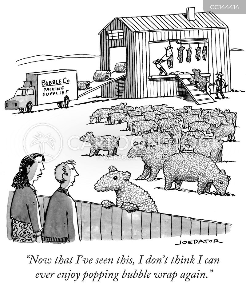 animal right cartoon
