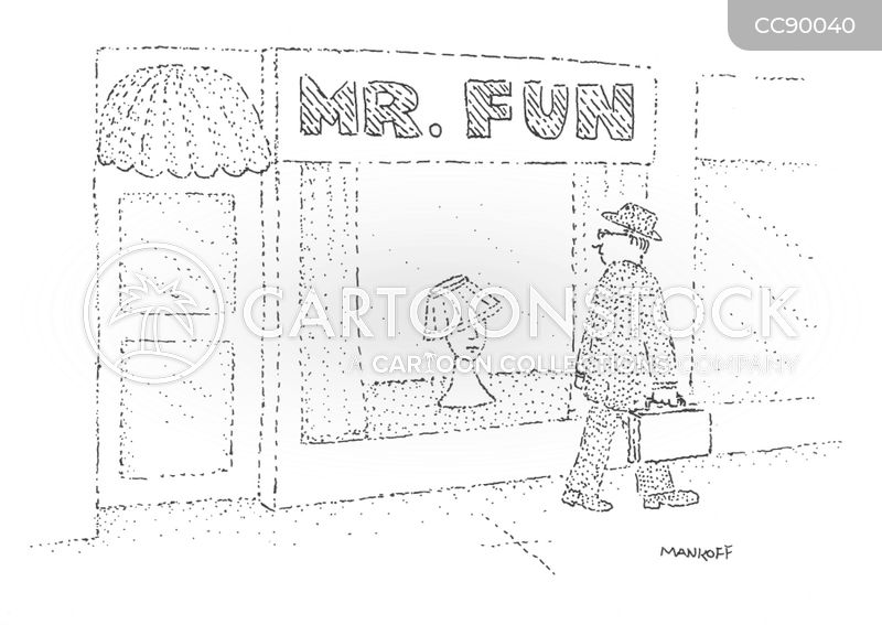 specialty stores cartoon