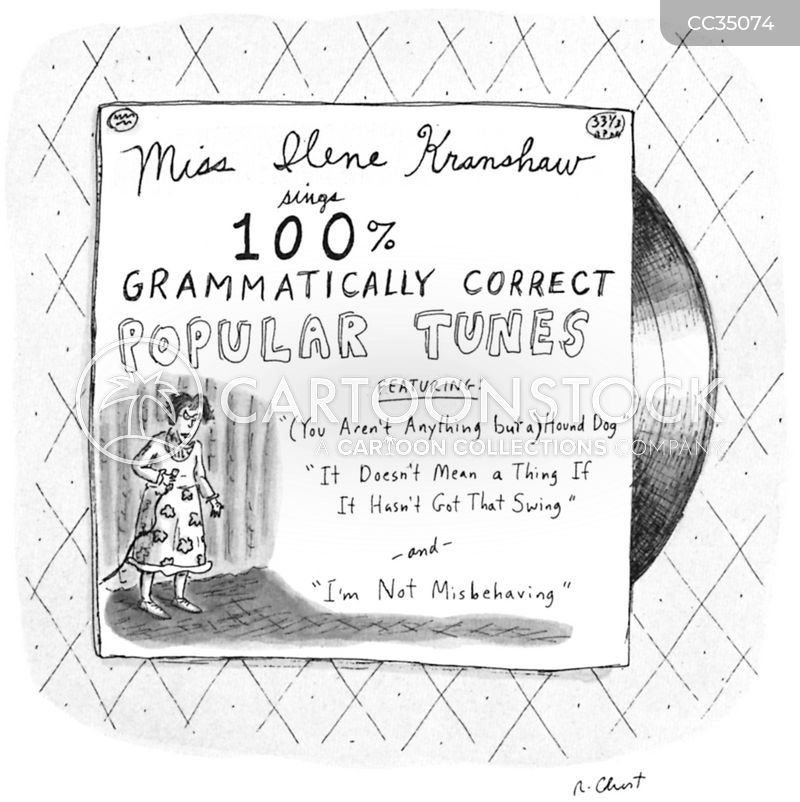 grammar-nazi cartoon