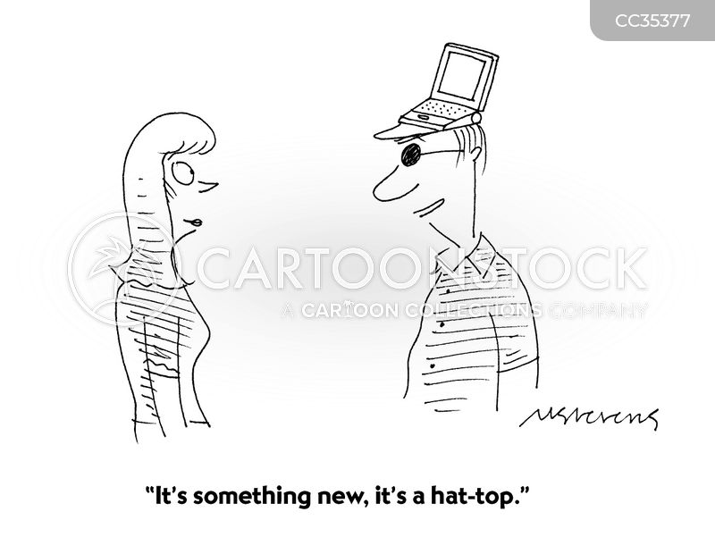 lap-tops cartoon
