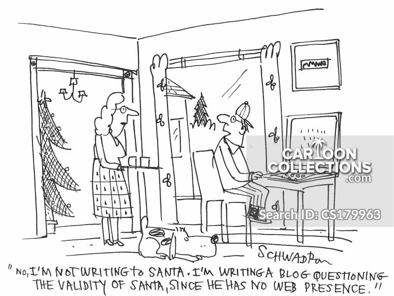 weblog cartoon