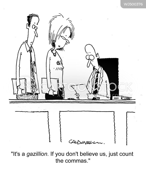 quarterly reports cartoon