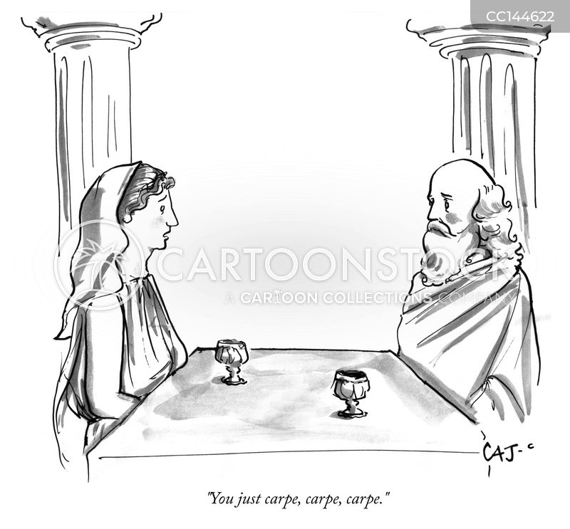 ancient roman cartoon