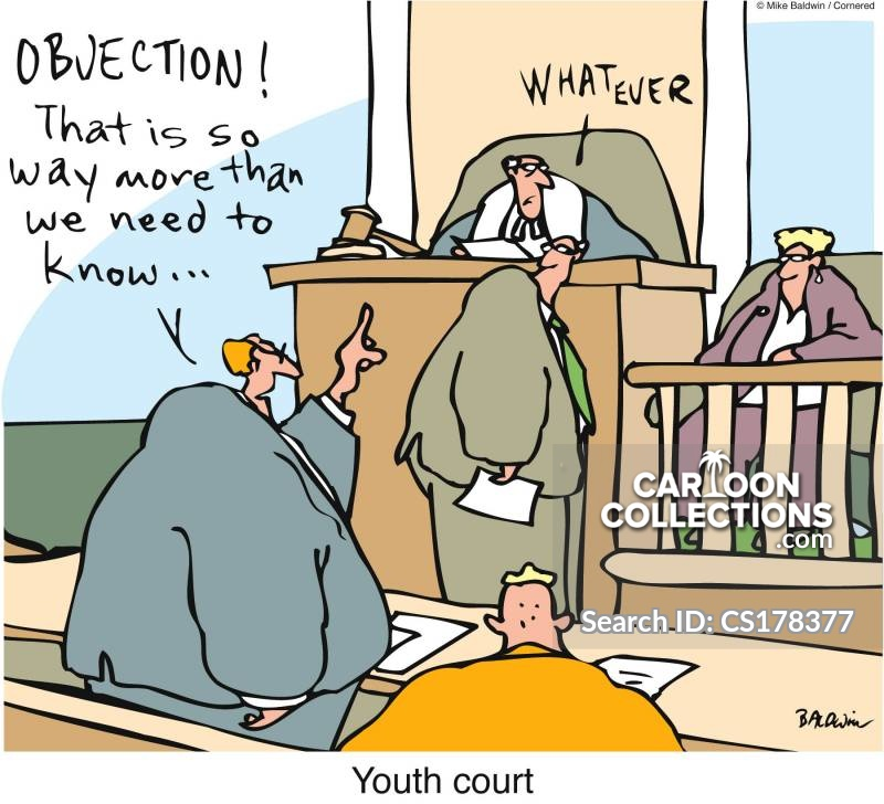 juvenile justice cartoon