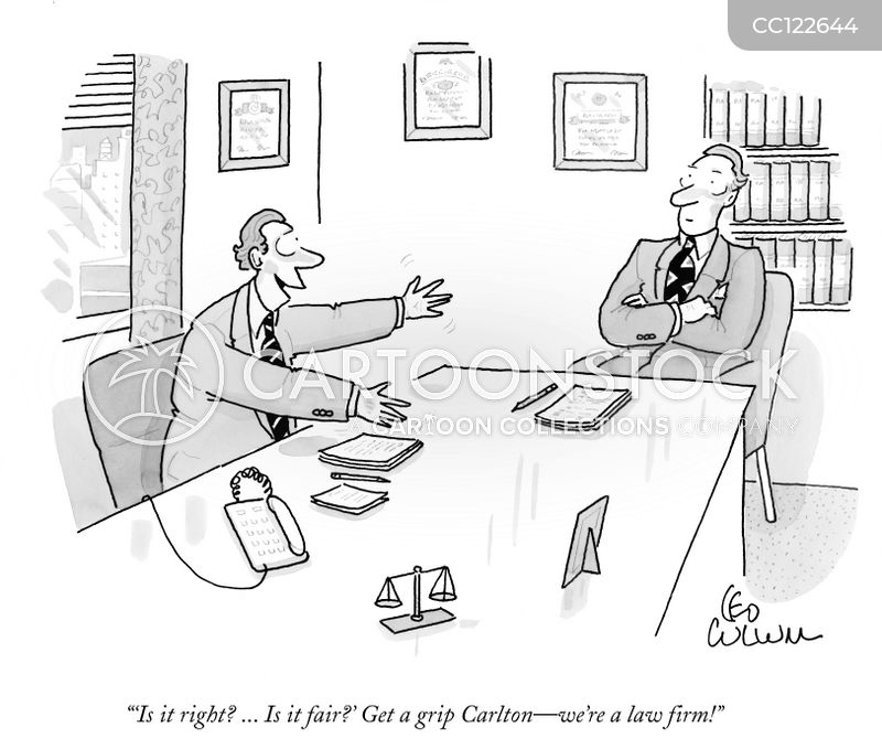 attorneys cartoon