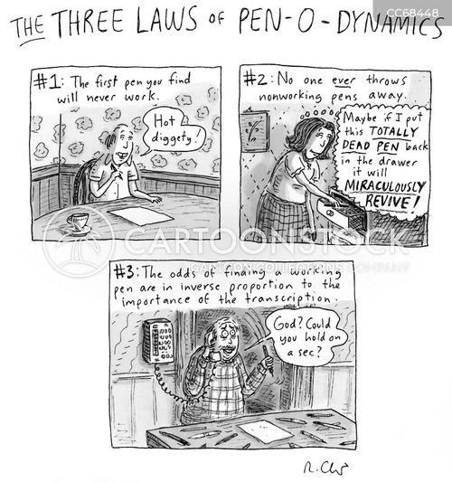 everyday annoyances cartoon