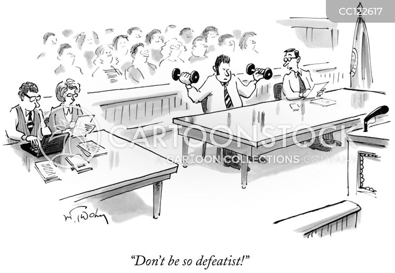 Defendant cartoon