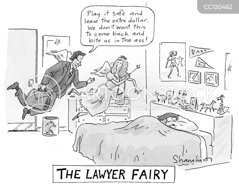 legal team cartoon