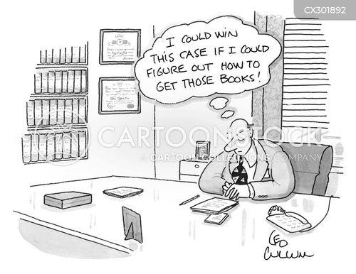 law books cartoon