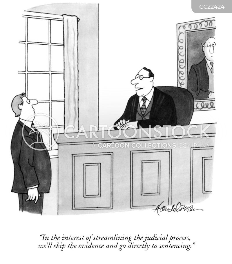 sentencing cartoon