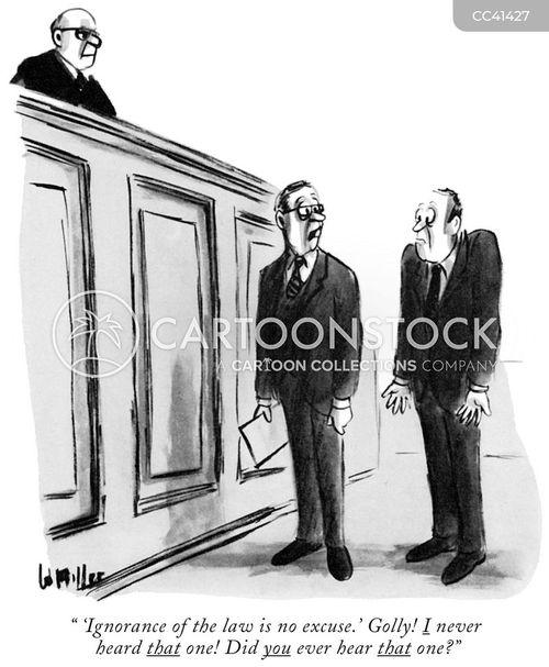 verdict cartoon