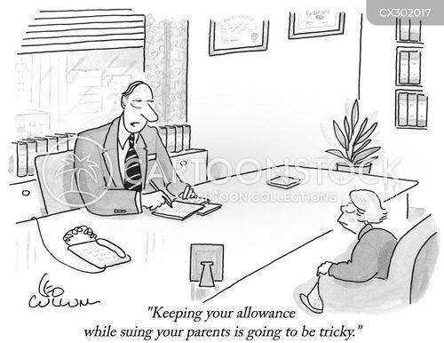 allowances cartoon