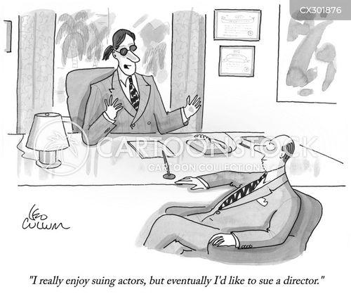 compensation culture cartoon