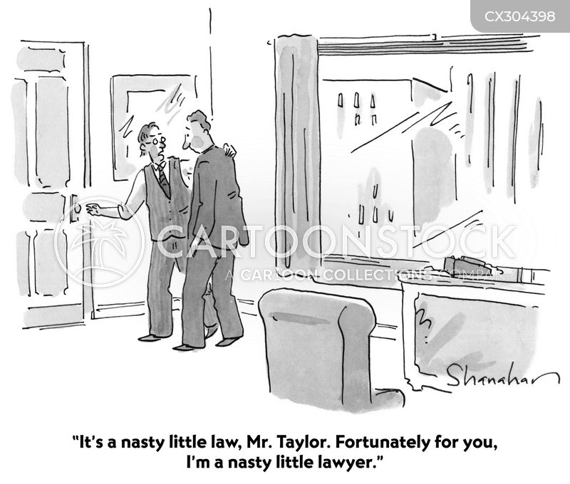 Corporate Lawyer cartoon