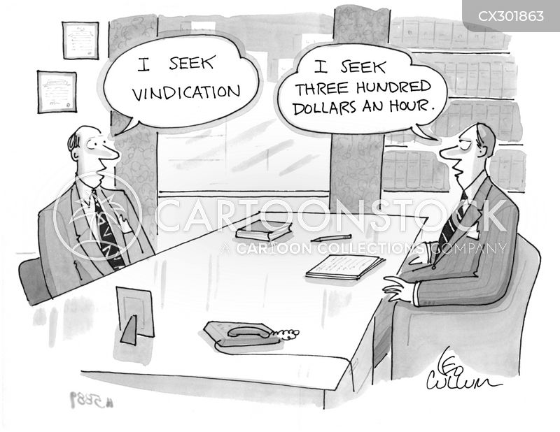 Vindication cartoon