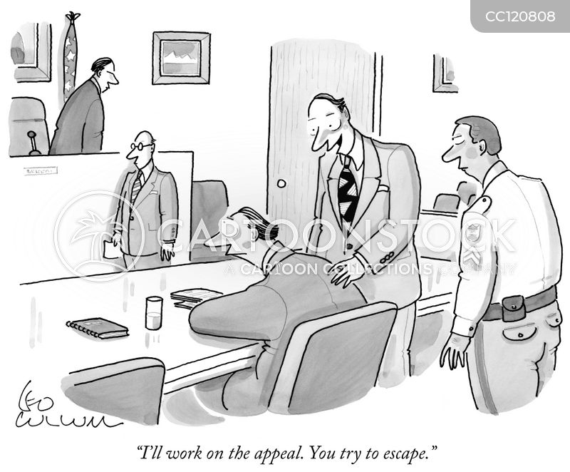 Attorney cartoon