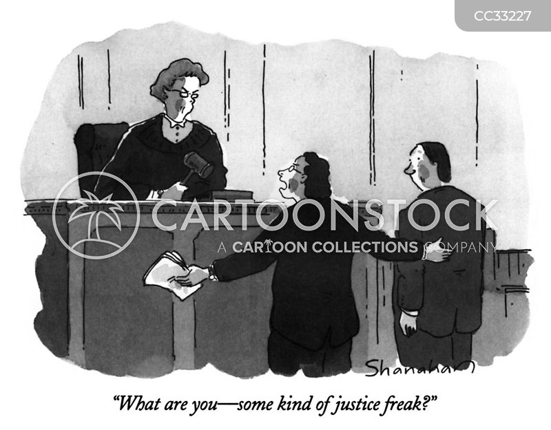 judges cartoon
